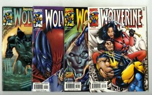Wolverine (1988 series) #153,154,155,156 Avg NM+ New Marvel Collection