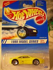 Hot Wheels Ferrari 355 1995 Model series Yellow 5 hole