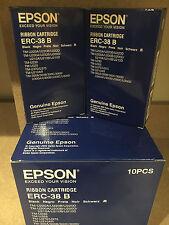 EPSON ERC-38 B Black Ribbon Cartridge (2Pack)