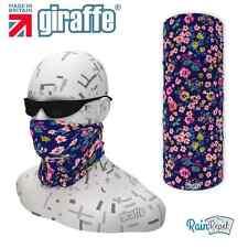 G554 Blu Floreale multifunzionale Headwear Bandana Fascia per Capelli da sci basso di lenza ciclo Run