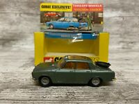 ALL ORIGINAL VINTAGE CORGI 275: ROVER 2000 TC GOLDEN JACKS WITH BOX