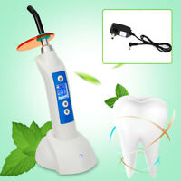 1800mw 5W Dental LED.B Wireless Cordless Curing Light LED Curing Lamp Fast ship
