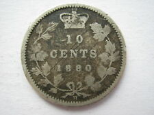 Canada 1880-H 10 Cents NF