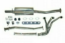 Complete Exhaust System Stainless W/ Header Muffler & Hardware MGB GEX130HDSS DO