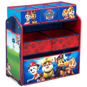 PAW Patrol Design & Store Multi-Bin Toy Storage Organizer