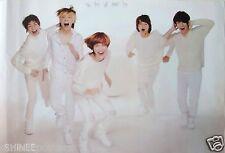"SHINEE ""WEARING WHITE OUTFITS & LAUGHING"" ASIAN POSTER - Korean K-Pop Boy Band"