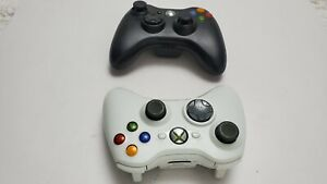 2 WIRELESS CONTROLLER FOR XBOX 360 CONTROLLERS