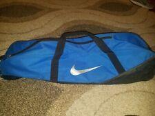 Nike Blue Little League Bat Bag Baseball Blue Silver Black