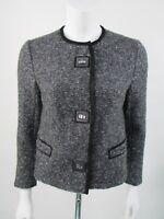Isabel Marant Woven Leather Trim Jacket FR40 UK12 BNWOTS