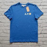 New APC x Carhartt WIP Logo Tshirt Blue