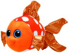 NEW TY BEANIE BOOS MEDIUM -  SAMI THE ORANGE FISH 371464
