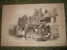 1830s,L-VIEW,IN TOURS,TOURAINE,INDRE ET LOIRE,FRANCE,FRANKREICH,FRANCIA