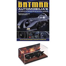 Batman Automobilia Magazine #1  1989 Movie Batmobile Car & Michael Keaton Figure