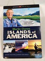 MARTIN CLUNES: ISLANDS OF AMERICA: SEASON 1 (Region 1 DVD,US Import,sealed.)