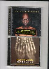 Faithless- Reverence & Forever Faithless Greatest Hits. 2 x CD Job Lot