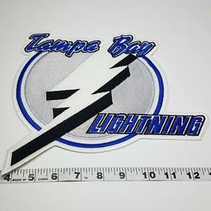 Tampa Bay Lightning Hockey NHL Patch VTG Vintage Large