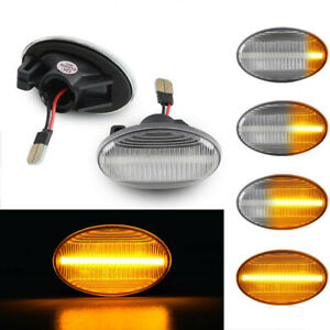 For Benz Smart W450 W452 W168 Vito W639 Sequential LED Side Marker Blinker Light