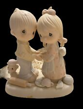 New ListingVintage Enesco Precious Moments Figurine Forgiving Is Forgetting 1982 #E9252