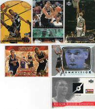 San Antonio Spurs Ungraded Modern (1970-Now) Basketball Trading Cards