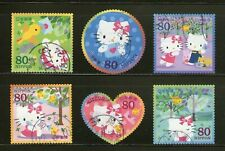 "Japan :""Hello Kitty & Dear Daniel"" Greetings-2009, Compl.Set/6,Odd-Shaped, Fu,#7"