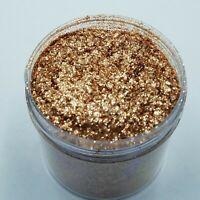 1oz Glitter - Natural Super Sparkle Rose Gold Mica Powder - 1 ounce
