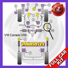 VW Corrado VR6 (1989-1995)  Powerflex Complete Bush Kit