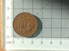 1952 old English 1/2 Half penny coin circulated ( lot 298 )