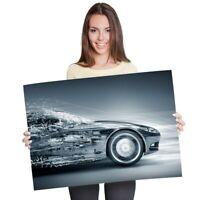 A1 - Futuristic Concept Car Driver Vehicle Poster 60X90cm180gsm Print #8666