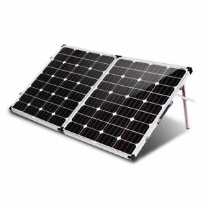 KOMAES SOLAR200 200WATT 12v FOLDING SOLAR PANEL W/CHARGE CONTROLER