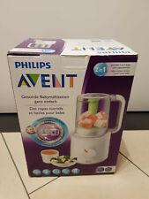 Philips Avent SCF 870/20 Babynahrungszubereiter  Dampfgarer und Mixer 2in1 NEU