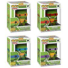 Vinilo Funko Pop! 8-Bit Teenage Mutant Ninja Turtles Conjunto de 4 Paquete de ahorro de la figura