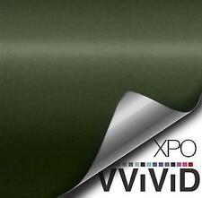 VVivid Vinyl Matte Series Car Wrap Film (Sample 2.5in x 5in) All Colors