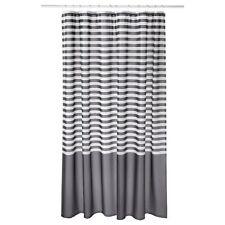 IKEA New Shower curtain VADSJÖN Dark grey 180x180 cm VADSJON