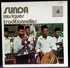 Sunda musiques traditionnelles Musique du monde LP NM, CV EX