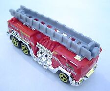 Red 5 Alarm 5 Fire Truck. Yellow Wheels. LOOSE Fresh Out of the Box!
