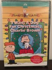 I Want a Dog for Christmas, Charlie Brown DVD - New/Sealed