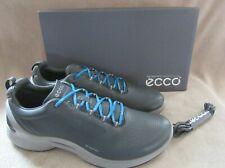 ECCO Biom Fjuel Train Dark Shadow Leather Walking Shoes US 10 - 10.5 M EU 44 NWB