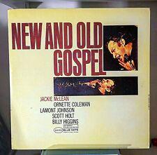 """JACKIE MCLEAN """"New And Old Gospel"""" 1984 Blue Note NM Vinyl"""