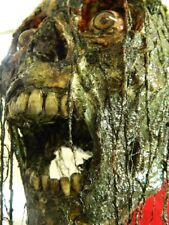 "HALLOWEEN HORROR MOVIE PROP - Realistic Resin Human Corpse Head ""Toxic Tanner"""