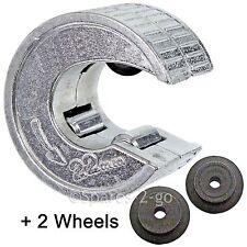 22mm Cortadora De Tubos Cobre Aluminio Tubo Slice fontanero herramienta de corte + ruedas de