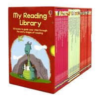 NEW  My Reading Library 50 Books Box Set Usbourne Collection *FREE AU SHIPPING*