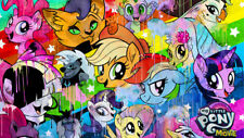 My little pony movie 2017 Silk Poster Wallpaper 24 X 13 inch