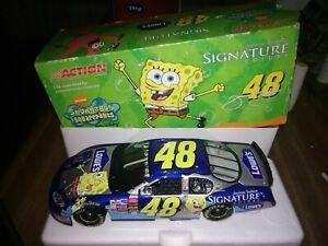 Jimmie Johnson #48 2003 Lowe's SpongeBob SquarePants Action Diecast Nascar 1:24