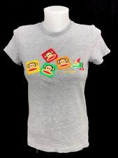 Paul Frank Julius The Monkey & Friends Women's Gray Graphic T-Shirt Size Small