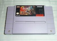Contra III The Alien Wars Super Nintendo SNES Authentic Cleaned & Tested