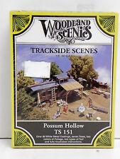 "Woodland Scenics Ho U/A ""Possum Hollow"" Craftsman Kit"