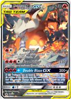Reshiram & Charizard GX SM201 Full Alternate Art JUMBO OVERSIZED Card IN STOCK
