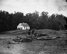 New 11x14 Civil War Photo: Dunker Church at Antietam - Sharpsburg Battlefield