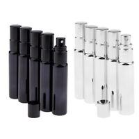 10x 10ml Mini Perfume Atomizer Empty Misty Spray Bottle Liquid Fine Mist Sprayer