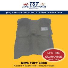 MOULDED CAR CARPET (F05) FORD CORTINA TC TD TE TF FRONT & REAR 70-83